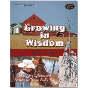 Growing in Wisdom Bible Study book