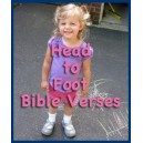 Head to Foot Bible Verses