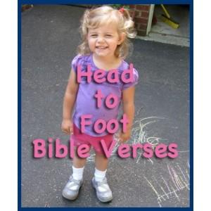 Head to Foot Bible Verses