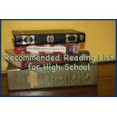 Recommended Reading List for High School