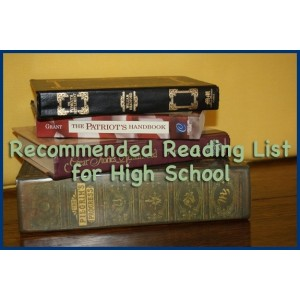 Recommended Reading List for High School [Downloadable]