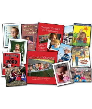 Level 1 - Character Concepts for Preschoolers Complete Curriculum