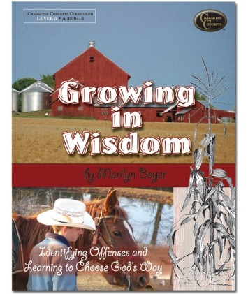 Growing in Wisdom -Study only as a download (E-Book)