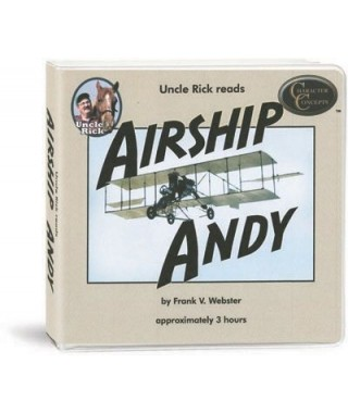 Uncle Rick Reads Airship Andy CD's