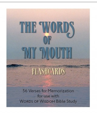 Words of My Mouth Scripture Memory Flashcards