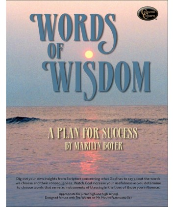 Words of Wisdom Bible Study: A Plan for Success