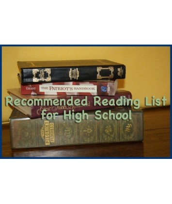 Recommended Reading List for High School [Downloadable] - Character Concepts