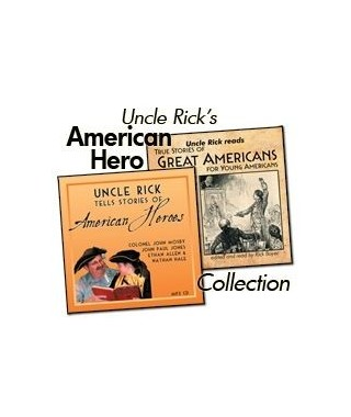 Uncle Rick Reads Hero Stories Collection