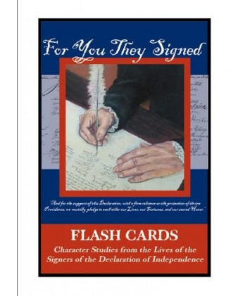 For You They Signed Flashcards