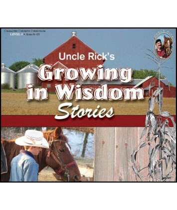 Uncle Rick`s Growing in Wisdom CD`s