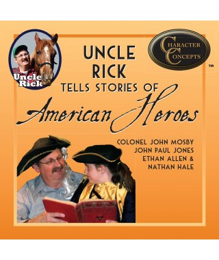 Uncle Rick Tells Stories of American Heroes Audio download