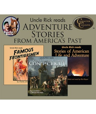 Uncle Rick`s Adventure `Stories From America's Past Collection CD's