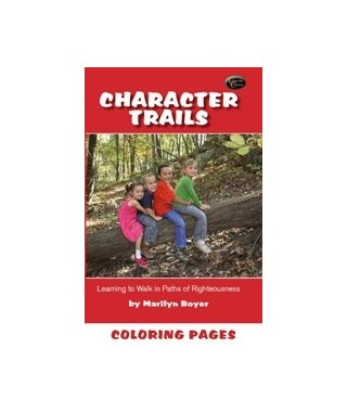 Character Trails Coloring Pages