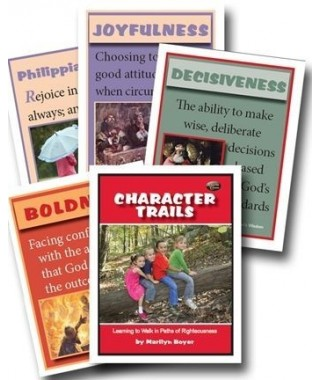 Character Trails Flashcards
