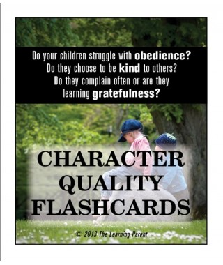 Character Quality Flashcards