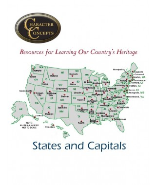States and Capitals Chart
