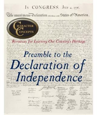 The Preamble to the Declaration of Independence