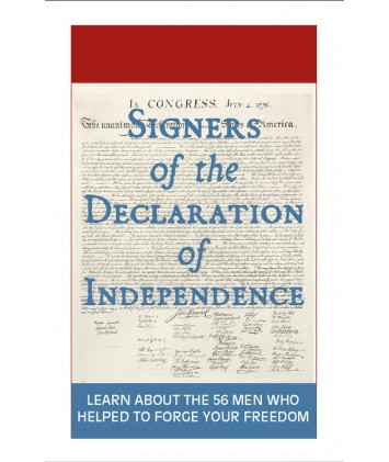 Signers of the Declaration Cards