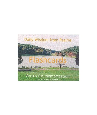 Daily Wisdom from Psalms Flashcards