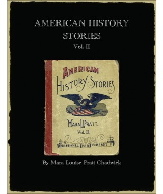 American History Stories E-book  by Mara Pratt Volume 1