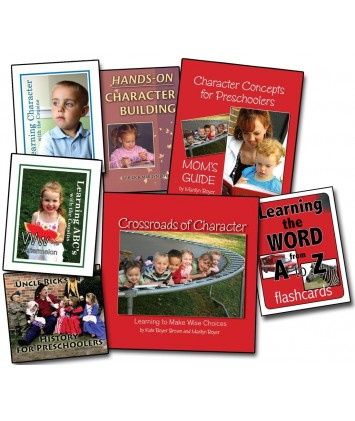 Level 1- Character Concepts for Preschool Basic Curriculum- Downloadable Version
