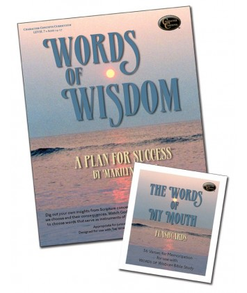 Level 7- Words of  Wisdom Curriculum Downloadable