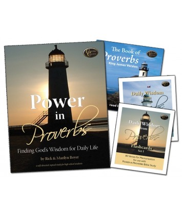 Level 8- Power in Proverbs Curriculum- Downloadable