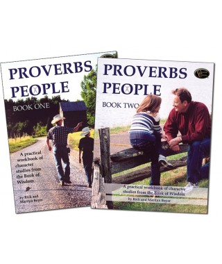 Level 4- Proverbs People Book 1 and Book 2 E-books