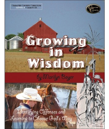 Level 5- Growing in Wisdom Bible Study E-book
