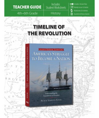 Timeline of the Revolution Teacher's Guide for America's Struggle to Become a Nation