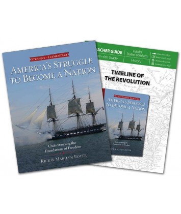 America's Struggle to Become a Nation Student Text and Teachers Guide Set
