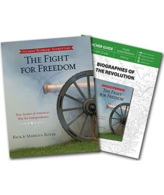 The Fight for Freedom Student Text and Teacher's Guide Curriculum