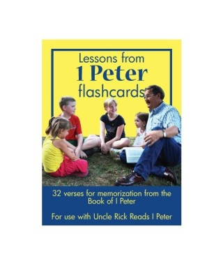 I Peter Flashcards, unlaminated version