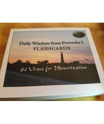 Daily Wisdom from Proverbs Set 1- Older version