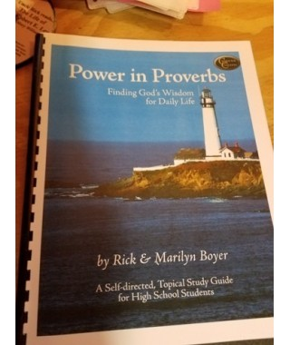 Power in Proverbs Bible Study spiral bound