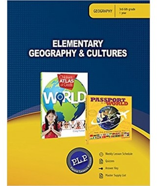 Elementary Geography and Cultures Parent Lesson Planner by Master Books