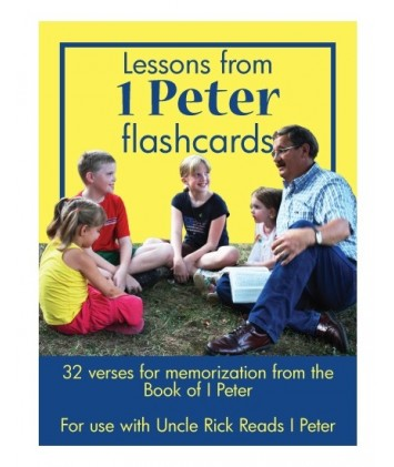 Lessons from I Peter Flashcards