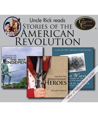 Uncle Rick Reads Stories of the American Revolution Collection CD's