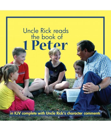 Uncle Rick Reads the Book of I Peter (Audio Download)