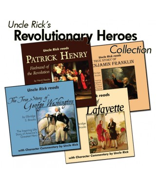 Uncle Rick Reads Biographies of Heroes from the American Revolution Collection