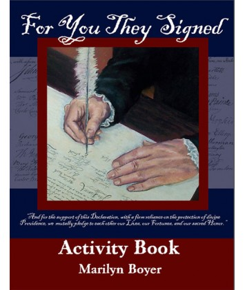 For You They Signed Activity Book (E-Book)