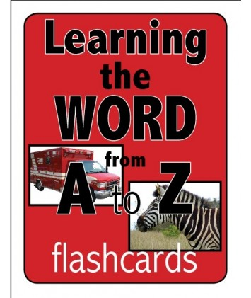 Learning the Word from A to Z Flashcards- Digital Version