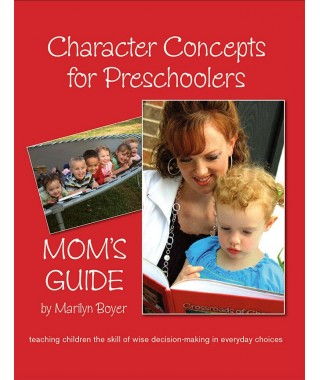 Character Concepts for Preschooler's Mom's Guide Digital Version
