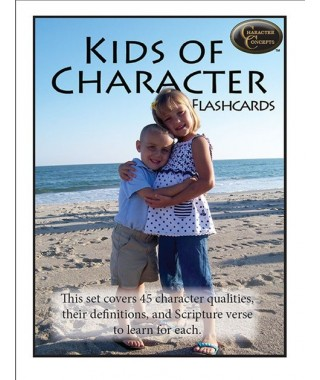 Kids of Character Flashcards [Downloadable]