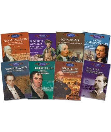 Library of American Lives and Times- set of 8