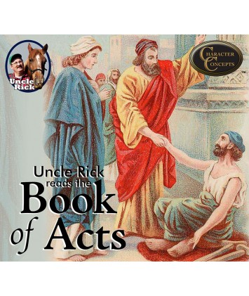Uncle Rick Reads The Book of Acts Audio book