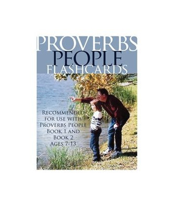 Proverbs People Flashcards - Digital Product
