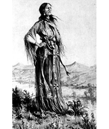 The Birdwoman of the Lewis and Clark Adventure eBook (E-Book)