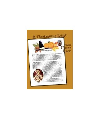 Uncle Rick Tells the Story of the First Thanksgiving (E-Book)
